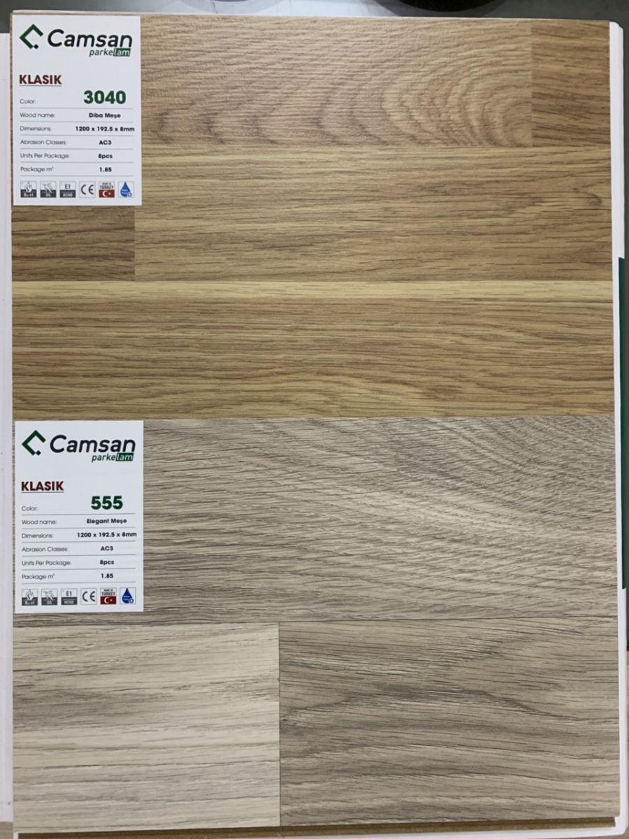 Sàn gỗ công nghiệp camsan Klasik 3040
