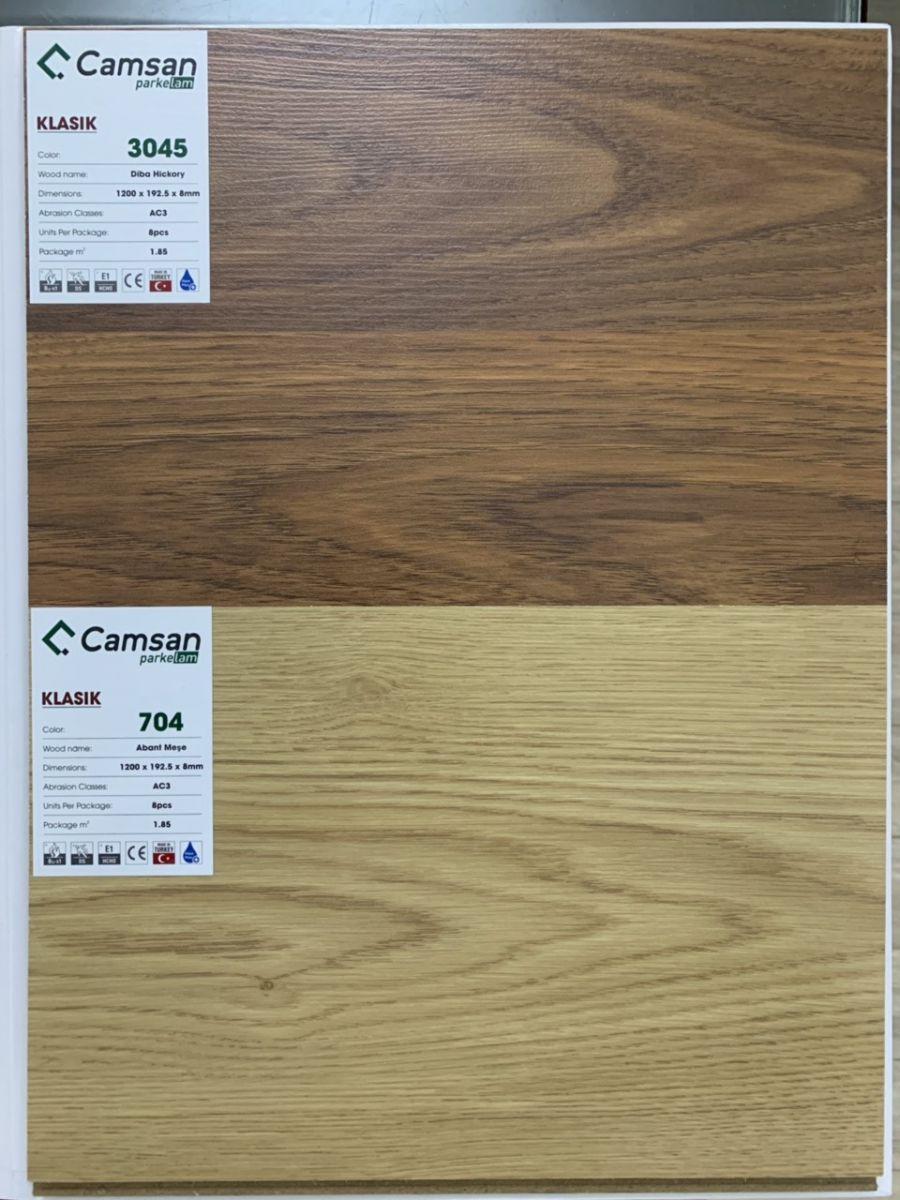 Sàn gỗ công nghiệp camsan Klasik 3045