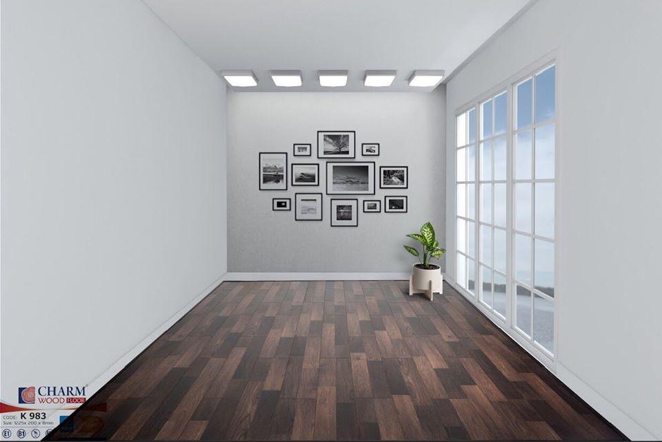 Sàn gỗ công nghiệp Charmwood K983